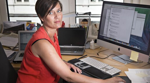 Unge, kvinnelege journalistar får dobbelt så mykje netthets