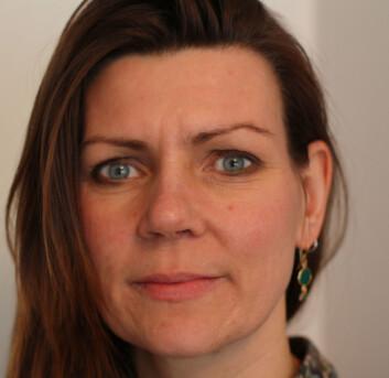 Camilla Eline Andersen er førstelektor ved barnehagelærerutdanningen ved Høgskolen i Hedmark.  (Foto: privat)