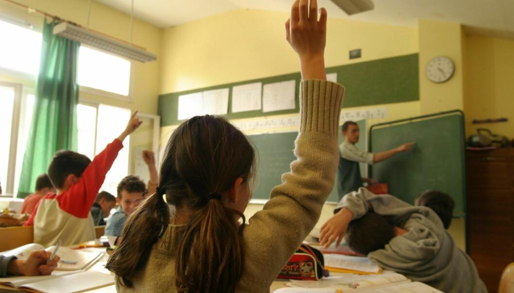 Hattie advarer mot å gruppere elever etter hvor flinke de er. Det gjør jobben enklere for lærerne, men har ikke noen positiv effekt på elevenes resultater. (Illustrasjonsfoto: Colourbox)