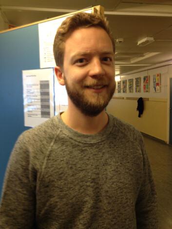 Lærer Jens Christian Horpestad bekrefter at det er lite rampestreker blant elevene hans. (Foto: Ida Korneliussen)