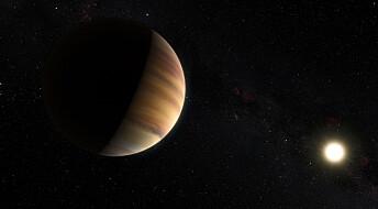 Ser farger fra planet i annet solsystem