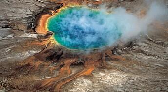 Gigantiskt magmakammer fôrer Yellowstone