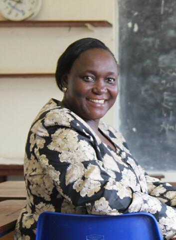 – No utdannar me lærarar som kan hjelpa oss å utvikla utdanningstilbodet vidare, seier Rose Nabirye, leiar ved fakultetet for sjukepleie på universitetet i Makerere, Uganda. (Foto: Runo Isaksen, SIU)