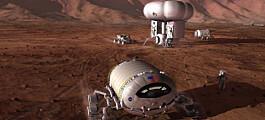 Nye planer for mennesker på Mars