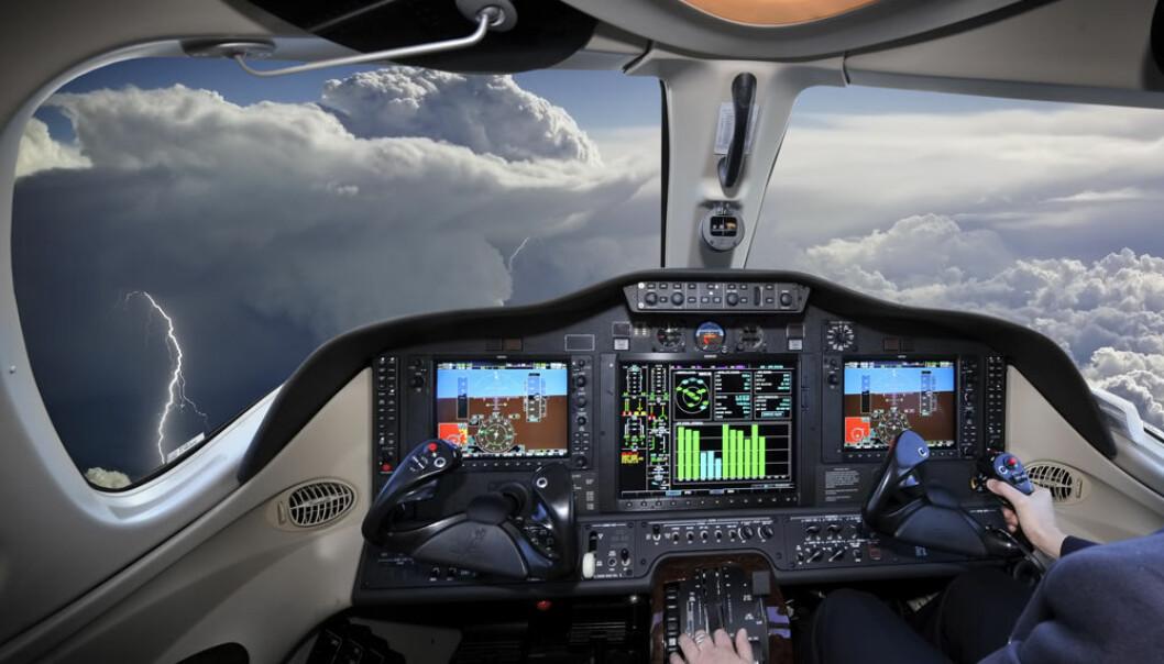Den eneste delen av flyvningen som ikke kan styres automatisk i dag, er avgangen. (Foto: Microstock)