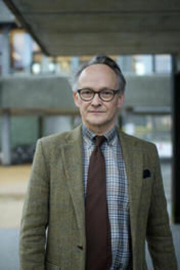Professor Geir Atle Ersland, Institutt for arkeologi, historie, kultur- og religionsvitenskap, Universitetet i Bergen.  (Foto: Walter Wehus)