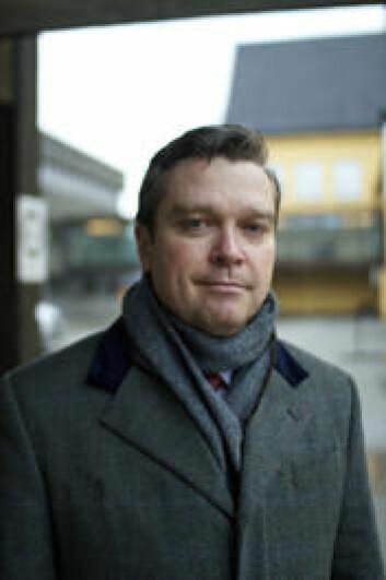 Postdoktor Stian Suppersberger Hamre, Institutt for arkeologi, historie, kultur- og religionsvitenskap, UiB.  (Foto: Walter Wehus)