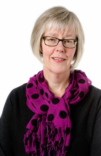 – Vi er enige at oppfølgingen av pasienter som har fått hjerneslag, ofte ikke er god nok, sier statssekretær Anne Grethe Erlandsen (H).  (Foto: Bjørn Stuedal)