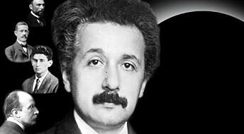 Politisk radikal Einstein på scena