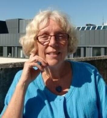 - Jeg håper at minnematerialet også kan brukes til å diskutere verdier i skolen, sier professor Sidsel Lied ved avdeling for lærerutdanning og naturvitenskap på Høgskolen i Hedmark.  (Foto: HiHm)