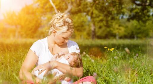 Amming beskytter ikke mot astma og allergi