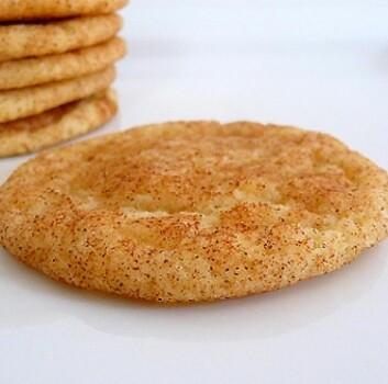 En av søtsakene barna kunne velge, var en snickerdoodle – en kjeks med kanel og sukker. (Foto: Browneyedbaker.com)