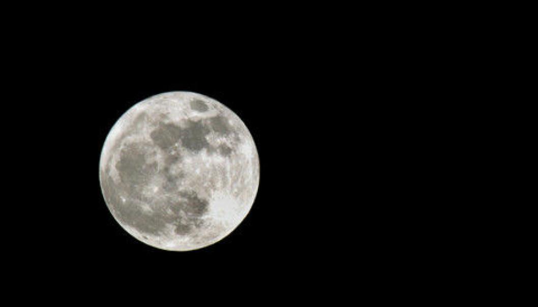 Månen skaper forskerdebatt, men nå har en ny puslespillbrikke falt på plass. (Foto: Colourbox)