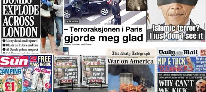 Hva gjør terrorisme til førstesidestoff?