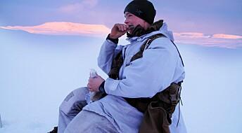Soldater i vinterkulde får i seg for lite næring