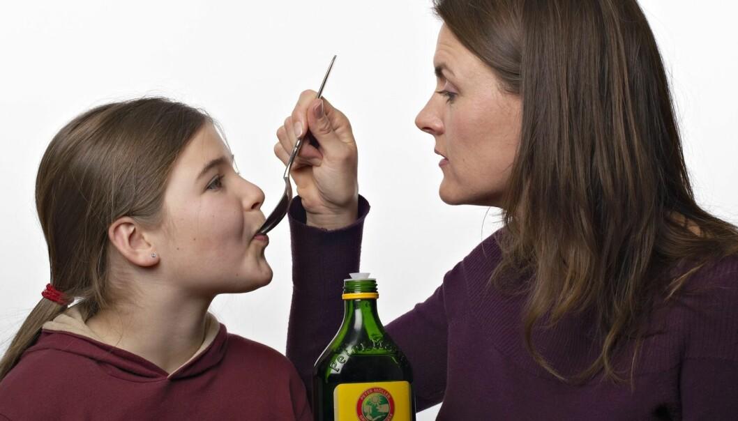 Allerede oldemor visste at det var sunt å ta tran. Kanskje er det enda sunnere enn du tror.  (Foto: Kerstin Mertens, Samfoto/NTB scanpix)