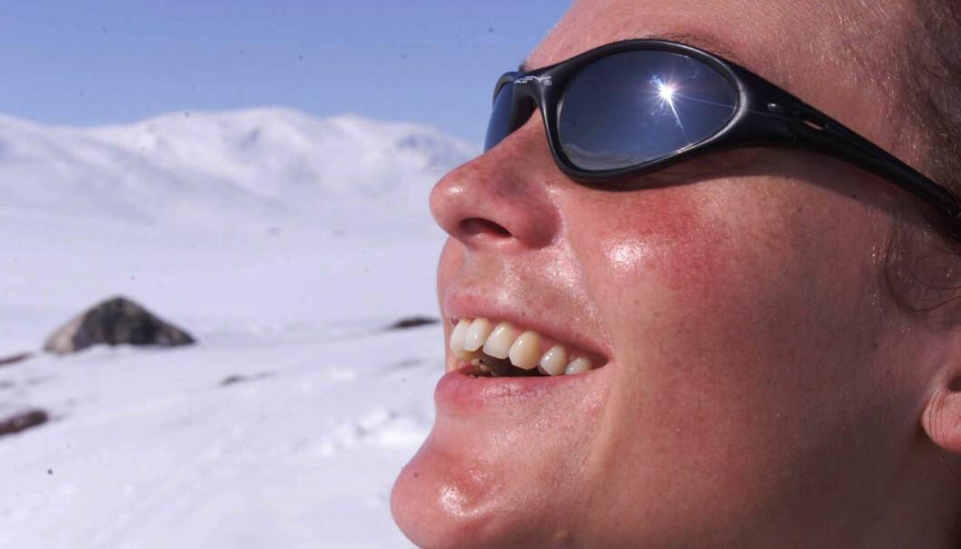 Kos deg i påsken. Men unngå å bli solbrent. (Foto: Jon Eeg, NTB scanpix)