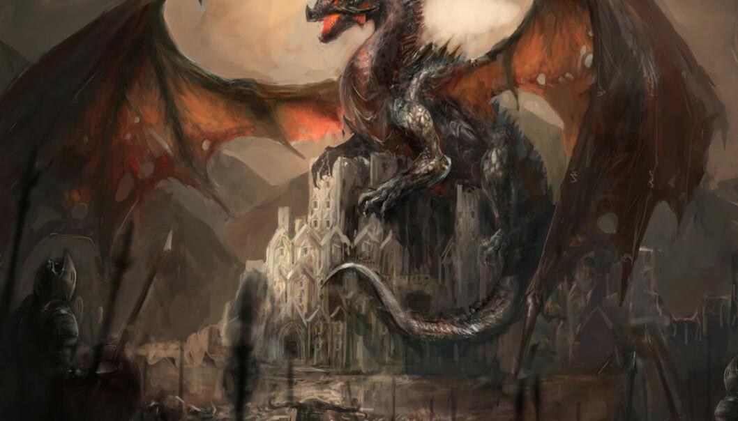 Kan dragehistoriene være mer enn eventyr?  (Illustrasjon: Microstock)
