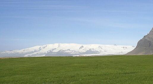 Sunket kontinent under sørøstkysten av Island