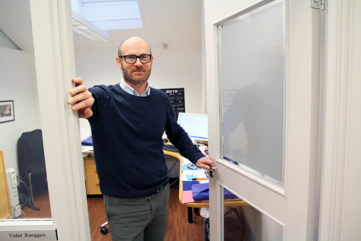 Vidar Røeggen i Det nasjonale publiseringsutvalget vil åpne dørene inn til all forskning. (Foto: Elin Fugelsnes)