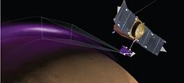 Mars kartlegges høyt oppe og dypt nede