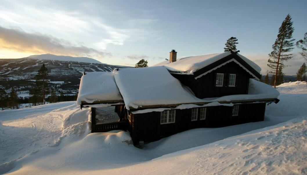 Mens hyttefolket jakter på vinterens siste krampetrekninger – her et eksempel fra Bjønnåsen hyttegrend i Trysil – kommer rapporten som viser at vertskommunene taper penger på hver eneste hytte. (Foto: Henrik Strømstad, Samfoto)