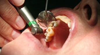 – Bedre tannhelse gjør at det er mindre behov for tannleger