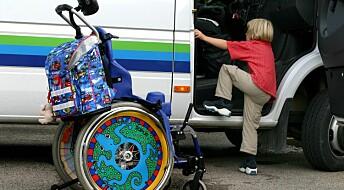 Barn ser ikke på seg selv som funksjonshemmede
