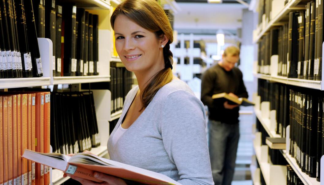 Det er første gong nokon har gjort ein grundig studie av samanhengen mellom lærestader og lønsnivå i Noreg.  (Foto: Frank May, NTB scanpix)