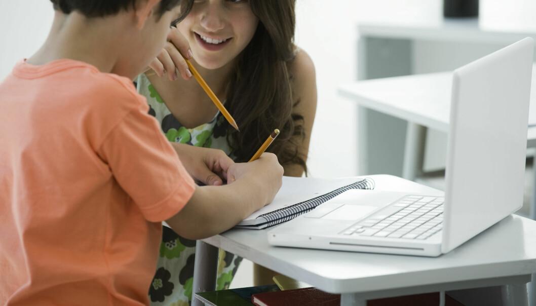 Foreldre med høy utdannelse kan kanskje påvirke barnas IQ, viser ny forskning. (Foto: Colourbox)
