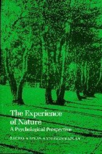 The Experience of Nature: A Psychological Perspective av Rachel Kaplan og Stephen Kaplan. Cambridge University Press 1989.