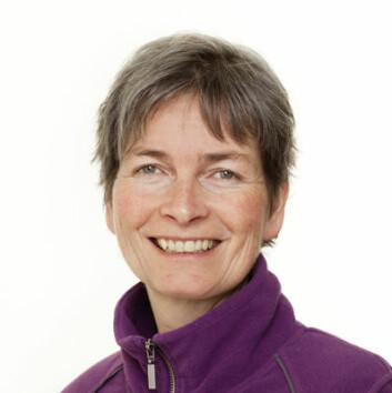 Forsker Cecilie Mejdell jobber blant annet med dyrevelferd. (Foto: Veterinærinstituttet)