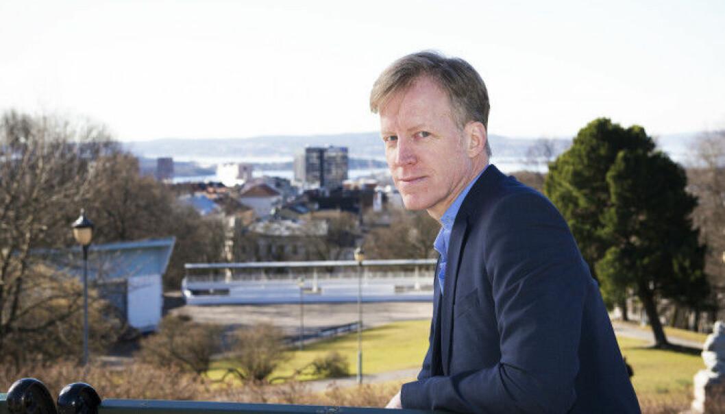 Påtroppende rektor ved HiOA, Curt Rice.  (Foto: Sonja Balci)