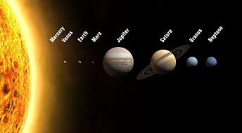 Dette solsystemet skiller seg ut