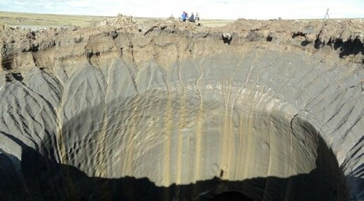 Har funne sju mystiske krater i Sibir