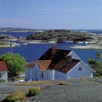 Det er litt over 4000 hytter i sommerparadiset Kragerø. (Foto: Svein Grønvold, Samfoto)