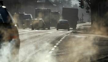Bare veier betyr mer støv, og mer støv betyr også mer luftforurensning. (Foto: Gorm Kallestad, NTB scanpix)