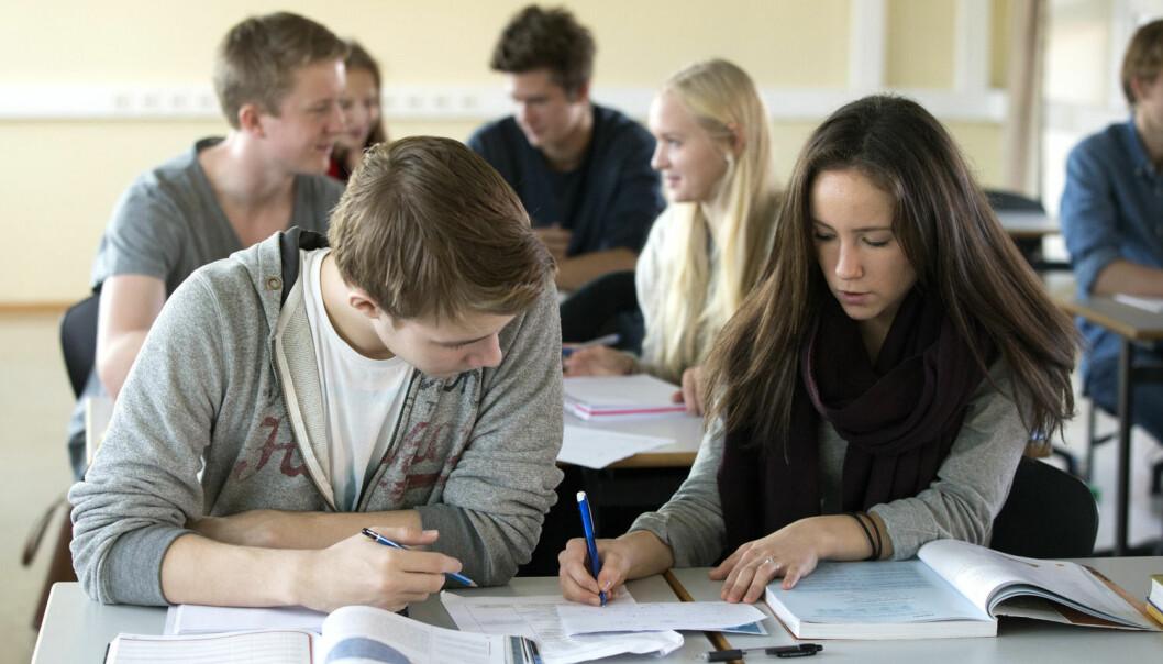 Den nye metoden blir brukt i grupper for engstelige elever, der helsesøster eller annet kvalifisert personell holder mestringskurs for elevene,  (Illustrasjonsfoto: Berit Roald, NTB scanpix)