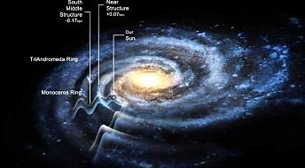 Melkeveien mye større enn antatt