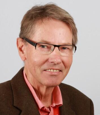 Dosent og optiker Magne Helland. (Foto: HBV)