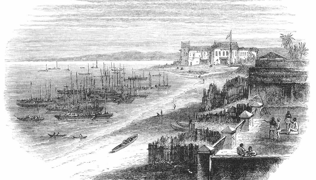 Slaver ble transportert fra store deler av Vest-Afrika til Amerika på 1600- og 1700-tallet. Kunnskap om hvor de kom fra, gikk ofte tapt. Nå kan genetikere fra Københavns Universitet finne opphavet.  (Foto: Colourbox)