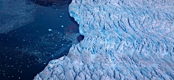 Økt globalt samarbeid om jordobservasjon som skal gi bedre klimaovervåking. Her en isbre ved Ny-Ålesund på Svalbard. (Foto: Bjørn-Owe Holmberg)