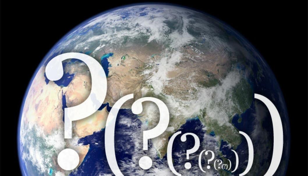 Avisene har egne sportsjournalister. Hvorfor har vi ikke egne klimajournalister? Med fare for å få halve idrettsnorge på nakken: Klimaproblemet er viktigere enn sport, skriver kronikkforfatteren. (Illustrasjonsfoto: NASA)