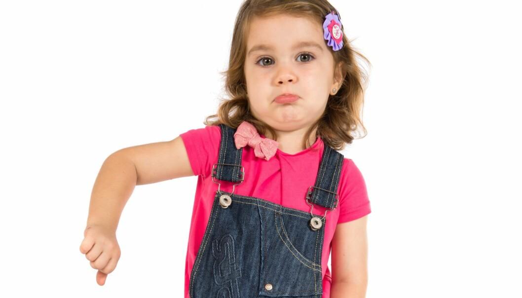 Noen barnehageansatte synes noe av gleden ved arbeidet er å oppleve barn som er modige nok til å si tydelig fra når voksne tar feil. Men langt fra alle. (Illustrasjonsfoto: Microstock)