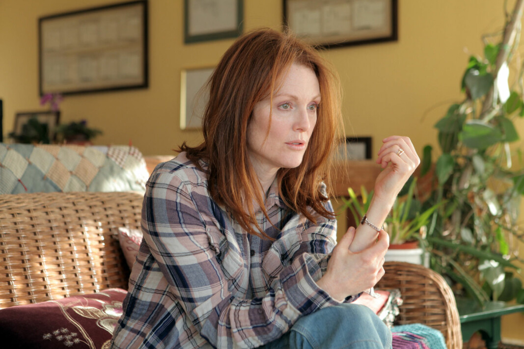 In the movie Still Alice, Julianne Moore plays a woman diagnosed with Alzheimer's disease. The movie raises questions about which qualities make life worth living, says Michael Lundblad.