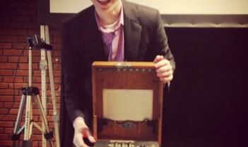 Enigma tilbake på Realfagsbiblioteket