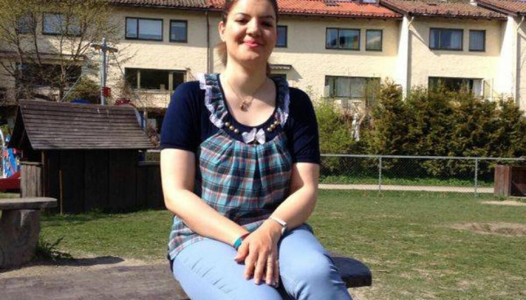 Iranske Mahtab Emamy fikk i går medhold i at Høgskolen i Buskerud og Vestfold begikk lovbrudd da den avslo å ta henne opp på masterstudiet.  (Foto: Privat)