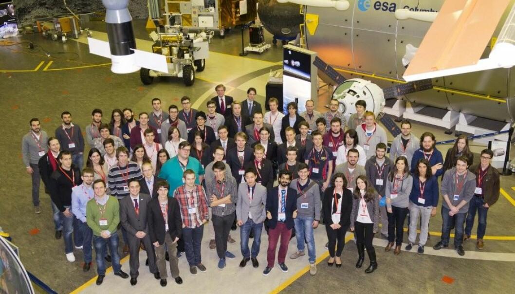 NTNU-studenter første norske lag på europeisk forskningsballong
