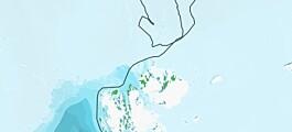 Verden, Polhavet og dvergplaneten