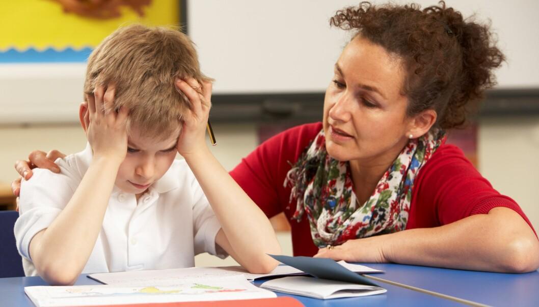 Svenske lærere som har mulighet til selv å lære noe nytt i arbeidstiden, sier at de har bedre helse enn andre lærere.  (Illustrasjonsfoto: Colourbox)